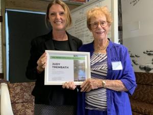 Judy Trembath Life Membership